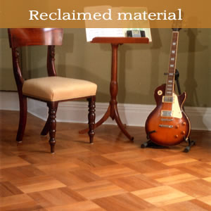 Reclaimed wood floors portfolio